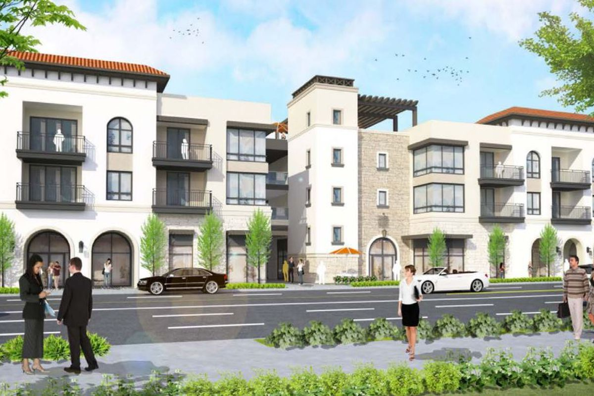 Downsized mixed use complex planned for Granada Hills - Curbed LA