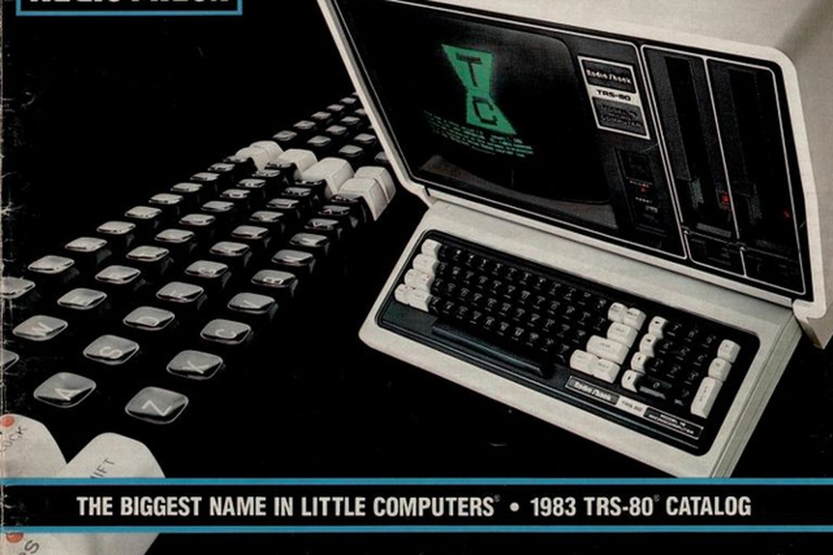 Radio Shack TRS-80 Computer Catalog cover