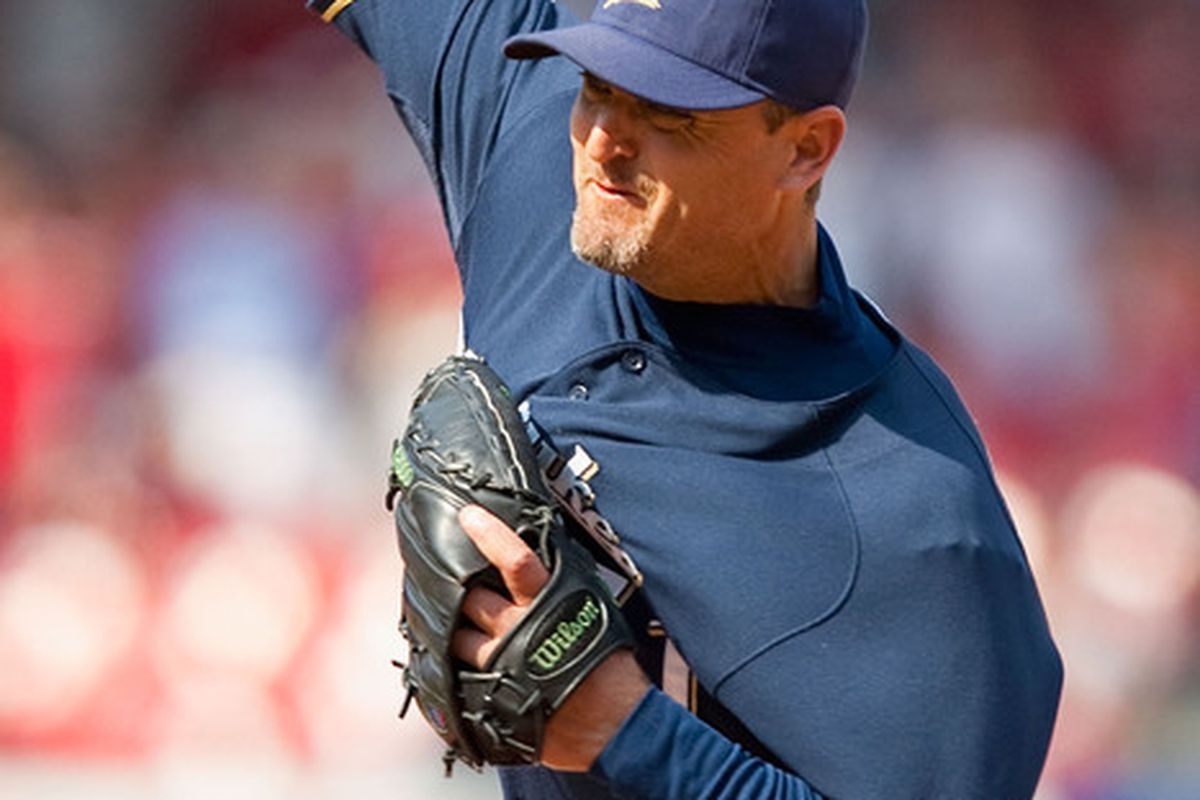 Trevor Hoffman notched save #598 Wednesday. Will 599 and 600 be soon to follow?
