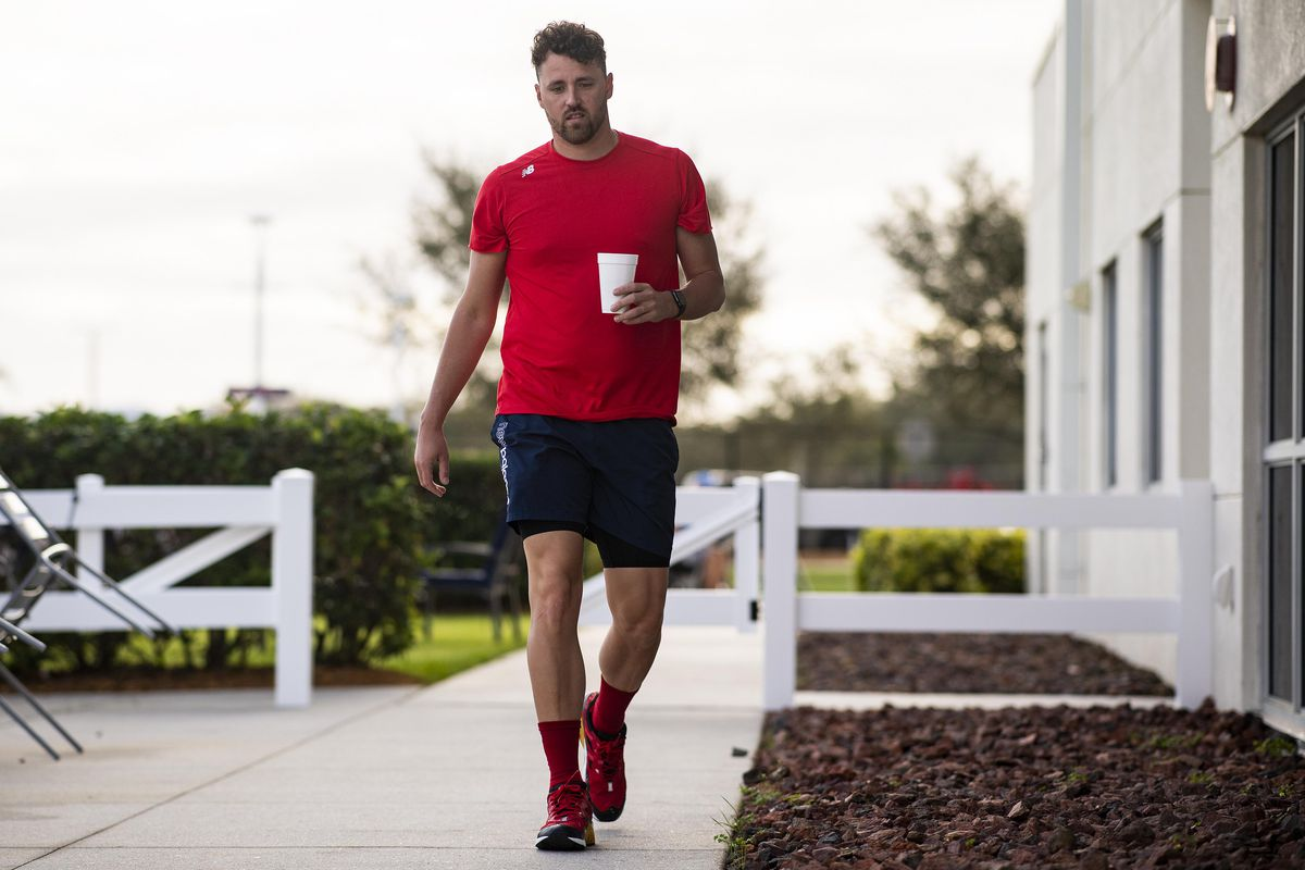 Boston Red Sox Spring Training Workout