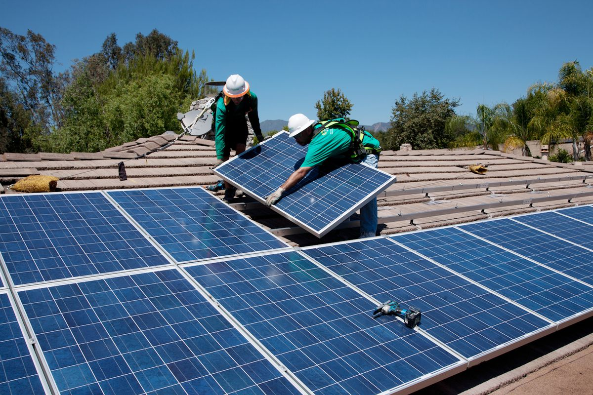 Utilities Fighting Against Rooftop Solar Are Only