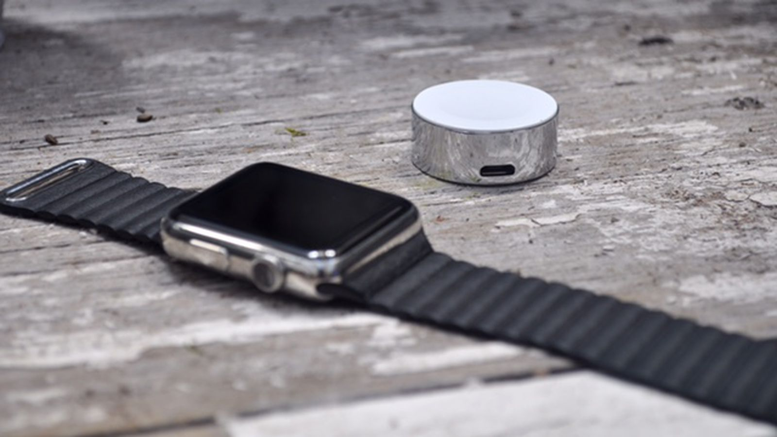 The Diskus Is The First Apple Approved Watch Charging
