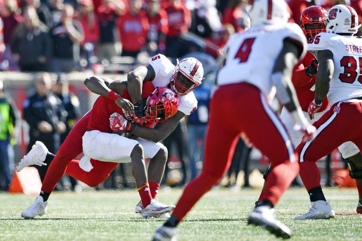 NCAA Football: North Carolina State at Louisville