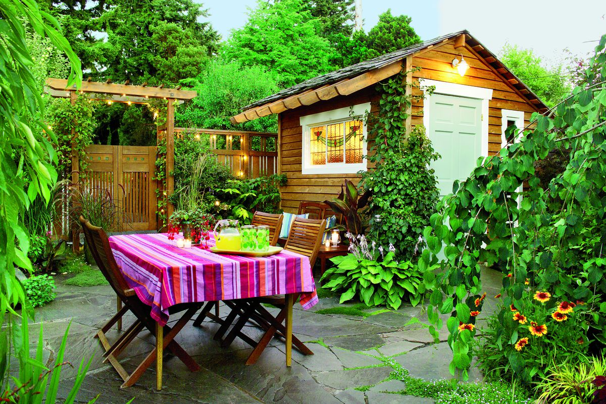 25 Thrifty Ways To Create Outdoor Dining This Old House