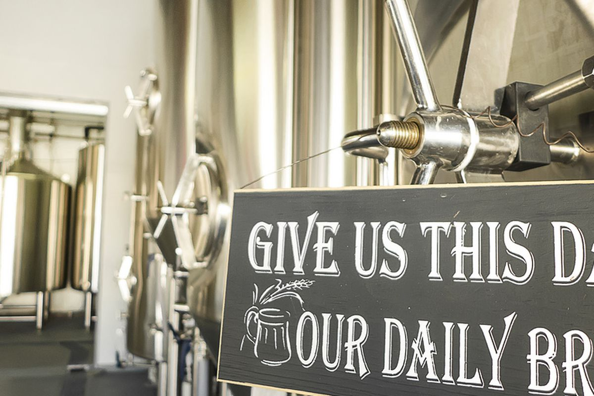 Taken at 8th Wonder Brewery, but the sentiment applies