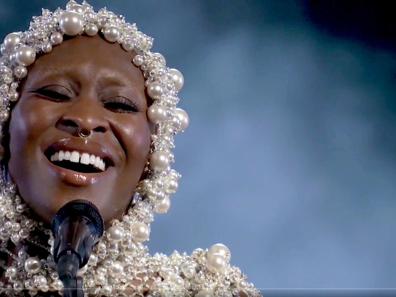 """Cynthia Erivo, pictured in this screen shot during last month's """"A Grammy Salute to the Sounds of Change,"""" will make her CSO soloist debut at the Ravinia Festival this summer."""