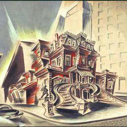 "Joe Richards, <i>The Holdout</i>, 1941. <i>[<a href=""http://www.joerichardsprincess.com/gallery2.htm"" rel=""nofollow"">Photo</a>]</i>"