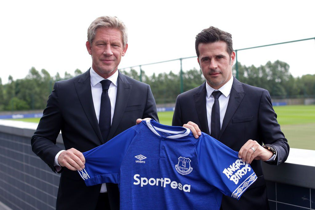 Marcel Brands and Marco Silva