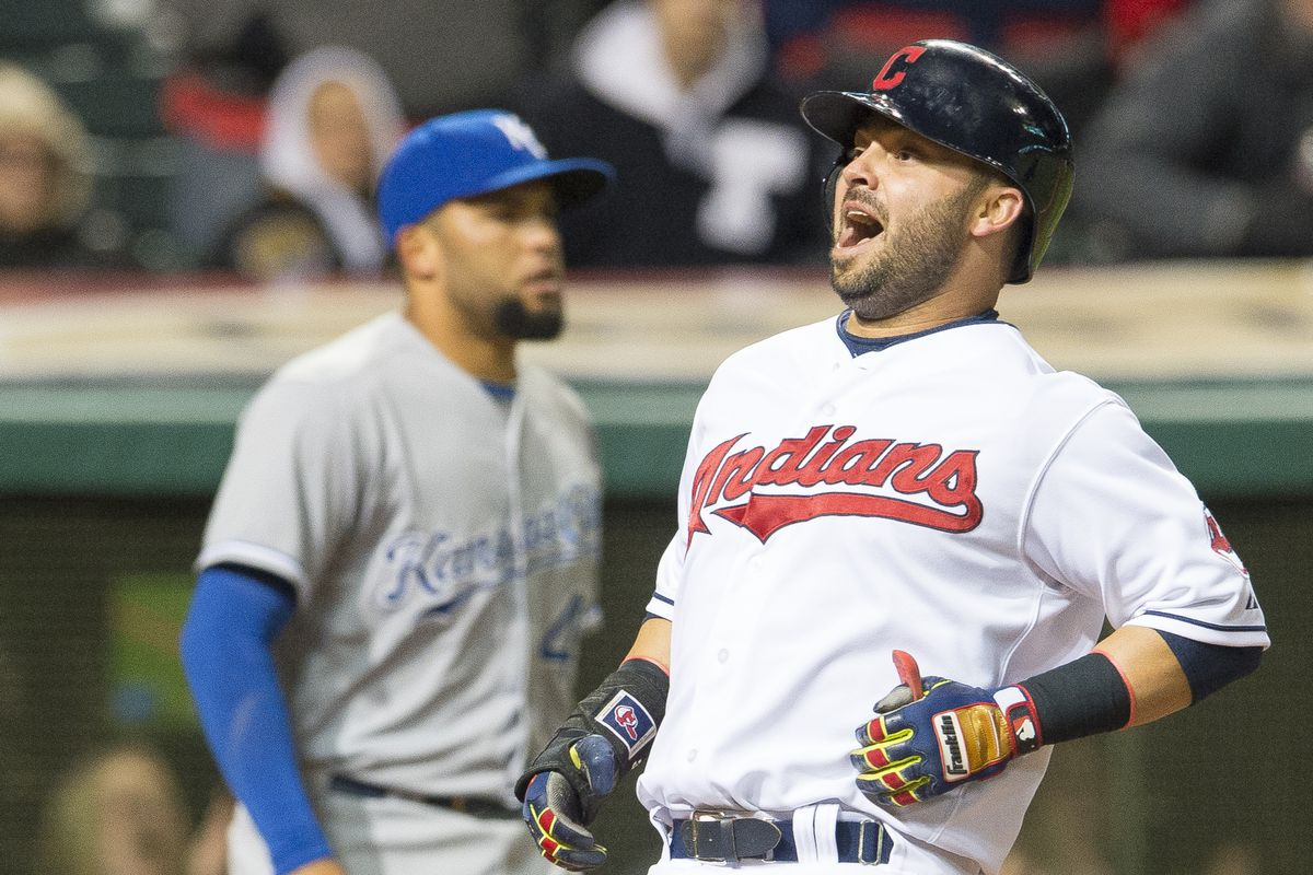 Swisher scored the go-ahead run in the Tribe's Wednesday victory