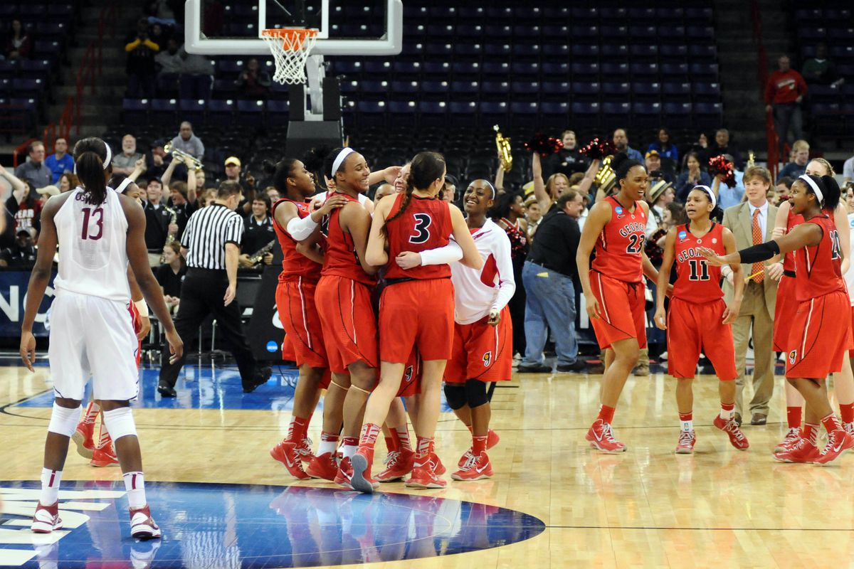 Georgia is a traditional power in women's basketball but the Bulldogs are an underdog tonight against Cal's team which is a team on the rise.