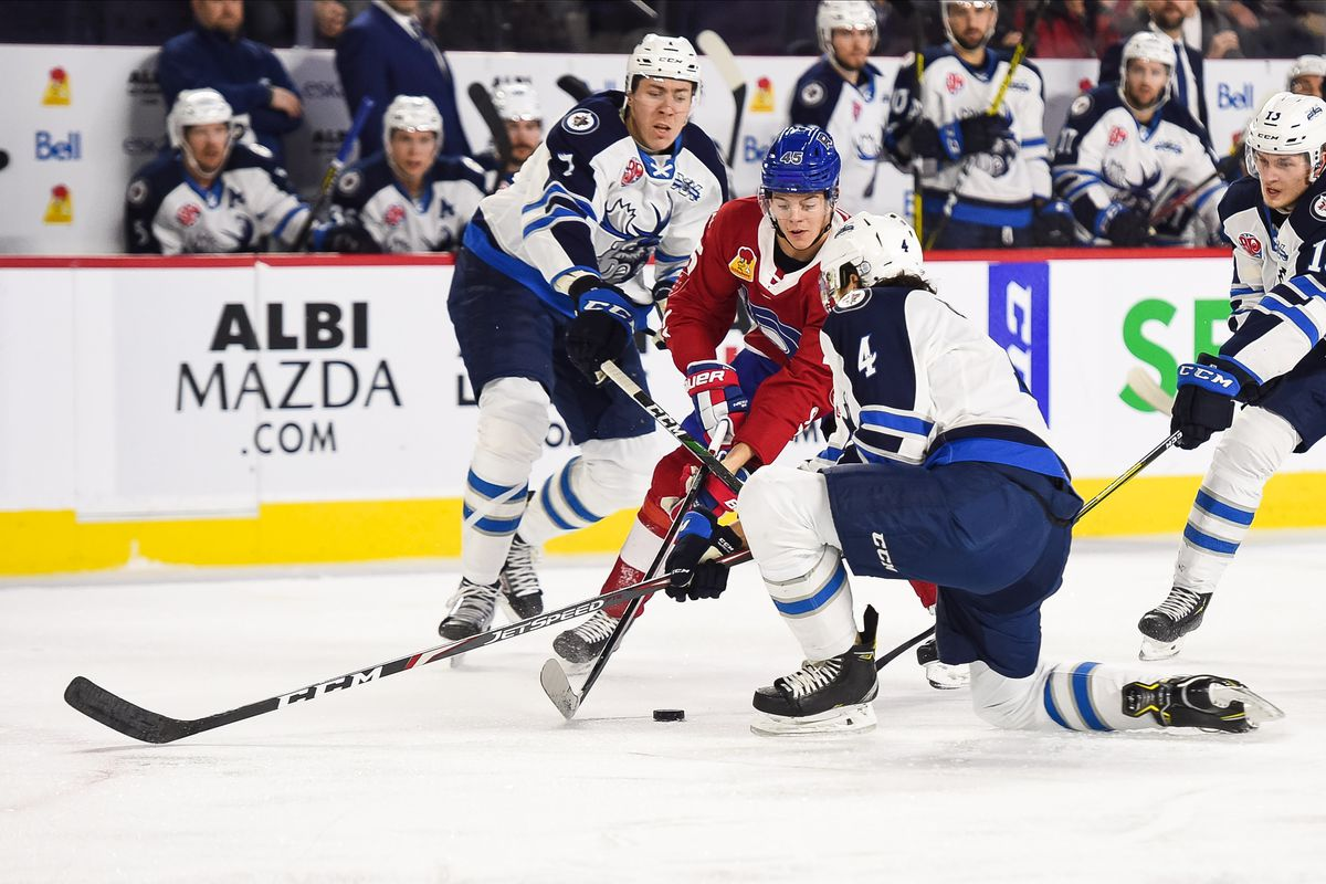 AHL: FEB 19 Manitoba Moose at Laval Rocket