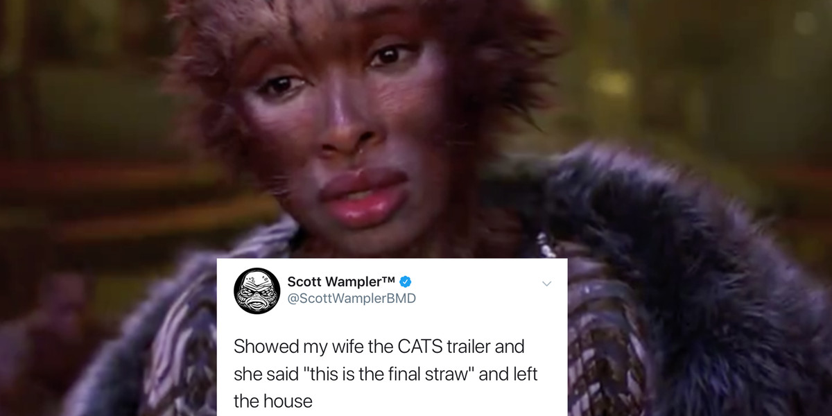 The 'Cats' Trailer Is Here And I Am Going To Walk Into The Sea