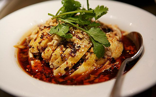 Sichuan chicken at Yipin China, one of the best restaurants in Islington