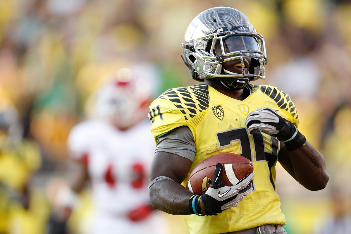 De'Anthony Thomas isn't the only Heisman hopeful in Oregon's backfield. Kenjon Barner is making a case of his own.
