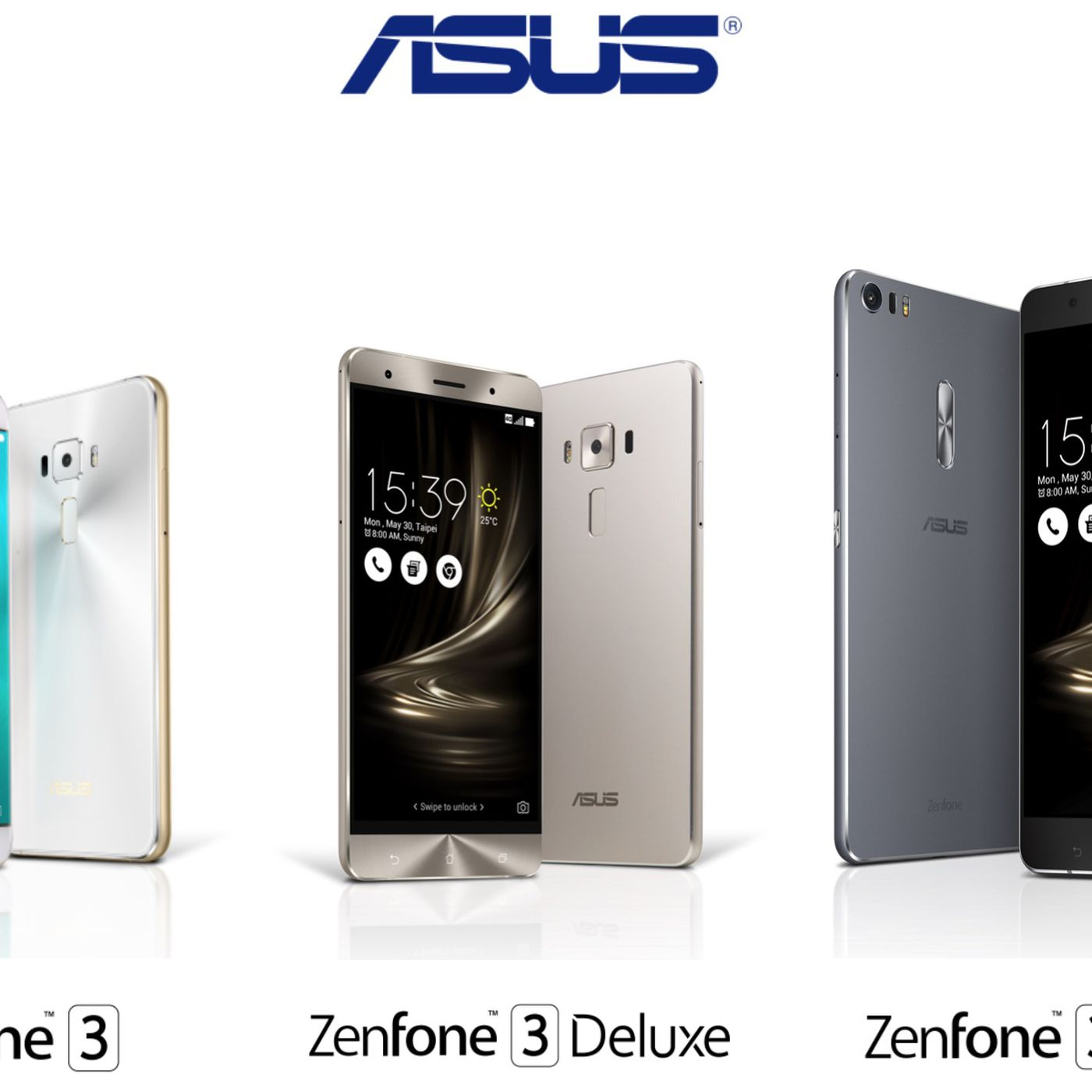 Asus announces Zenfone 3 alongside premium Deluxe and giant Ultra models The Verge