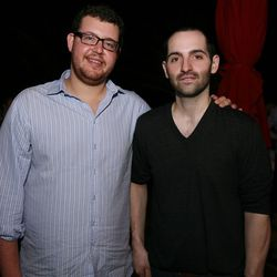 Jeff Zalaznick and Mario Carbone of Torrisi Italian Specialties.