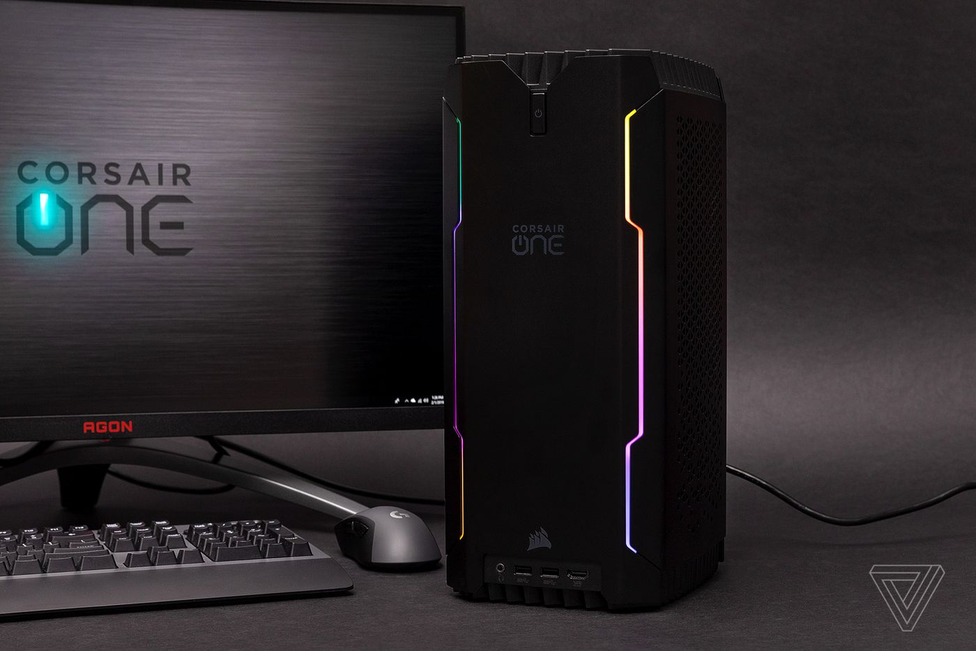 Corsair One i160 gaming PC review: small, powerful, and pricey - The