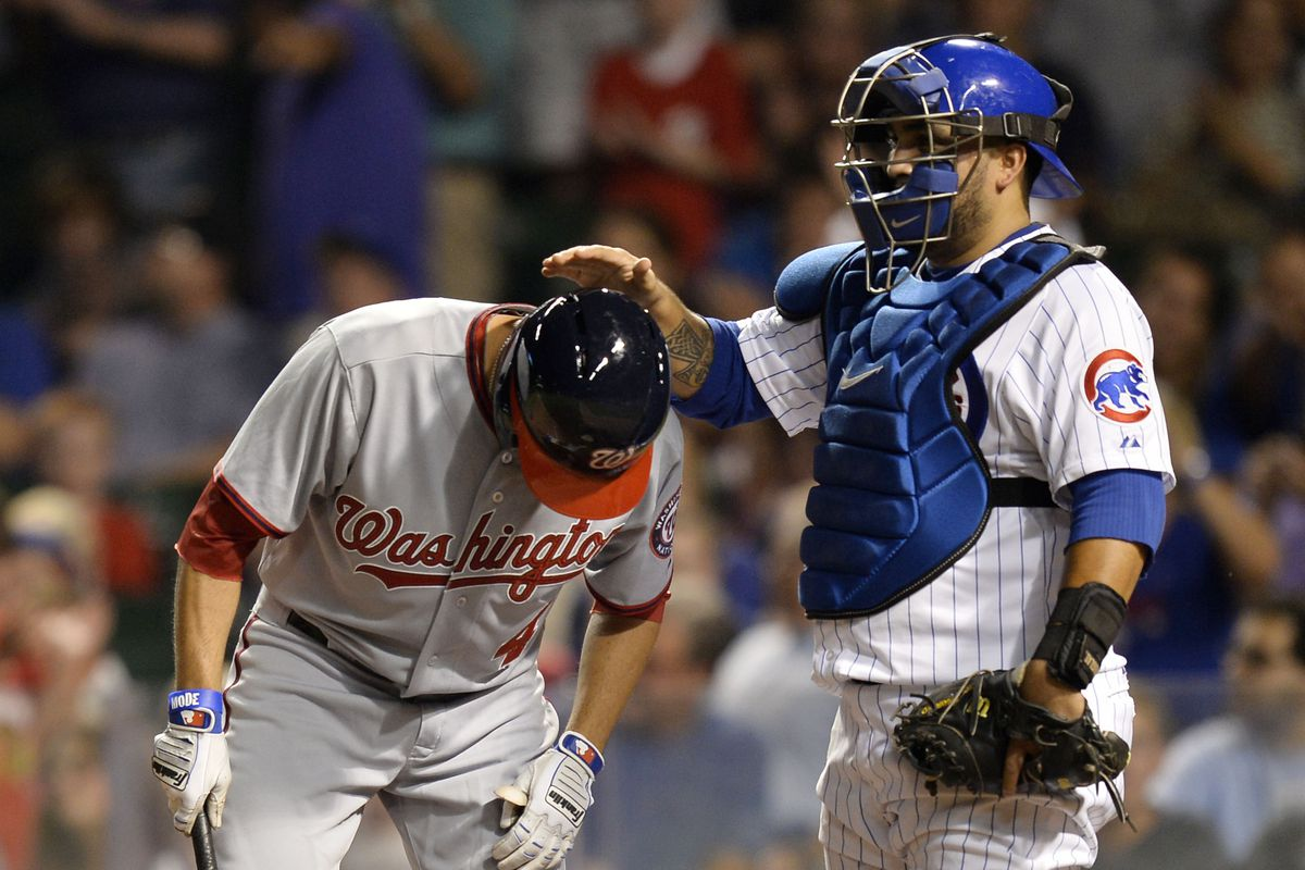 Dioner Navarro must have known that David DeJesus would be a National for only 3 games.