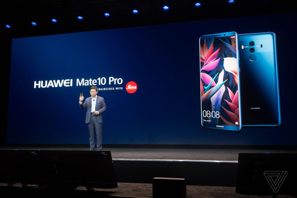 Huawei's also selling a $1225 Porsche-branded Mate 10