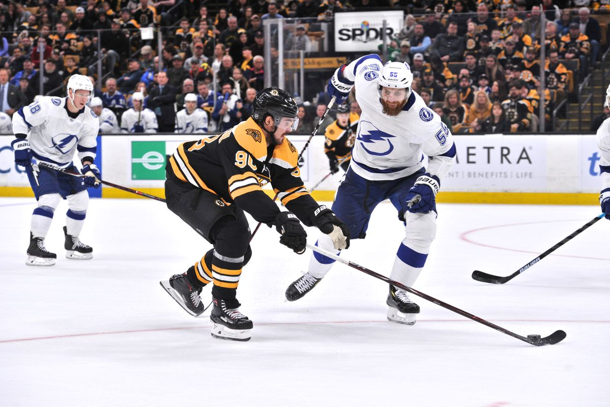 NHL: APR 06 Lightning at Bruins
