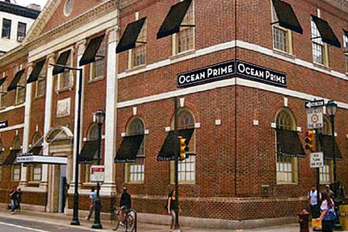 Ocean Prime is opening on 9/9.