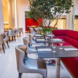 The main dining room at JP Atlanta.