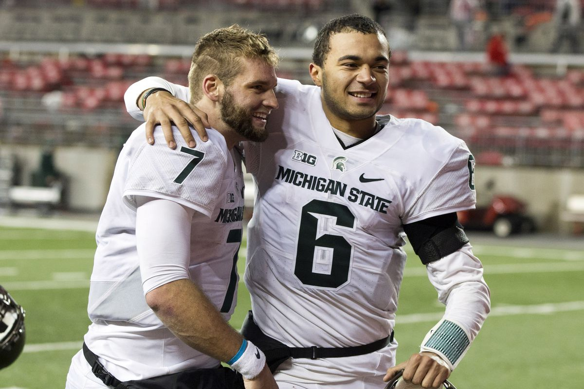 Tyler O'Connor and Damian Terry will compete to be the Spartans' signal caller