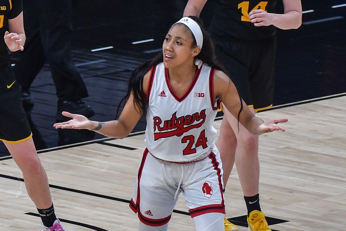 Iowa v Rutgers - Big Ten Women's Basketball Tournament - Quarterfinals