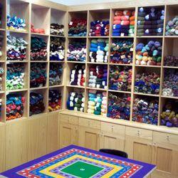 Windy Knitty Community Knitting Table