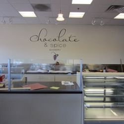 A look at the counter at Chocolate & Spice.