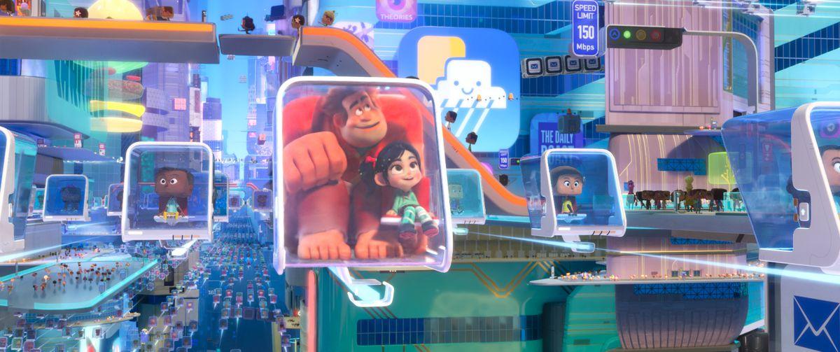 69b8ea10502 Ralph Breaks the Internet is The Lego Movie of Disney films - The Verge