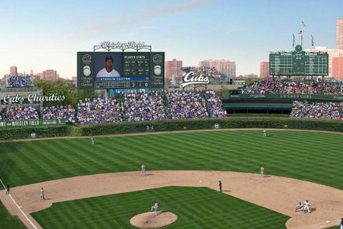 Renders via Chicago Cubs