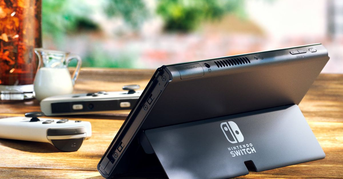 Nintendo finally improved the Switch's kickstand with new OLED model