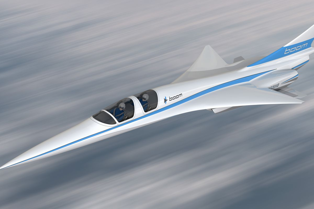 This tiny supersonic jet could...