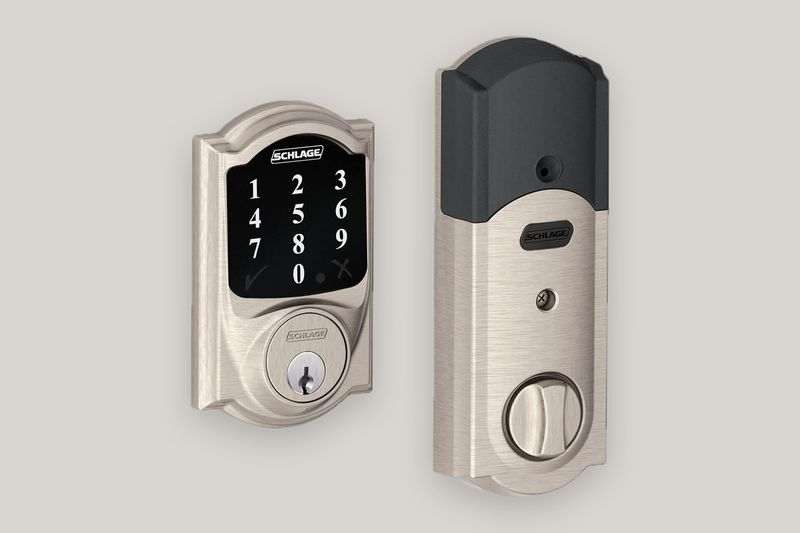Schlage Lock Company BE468CAM619 Connect Camelot Touchscreen Deadbolt