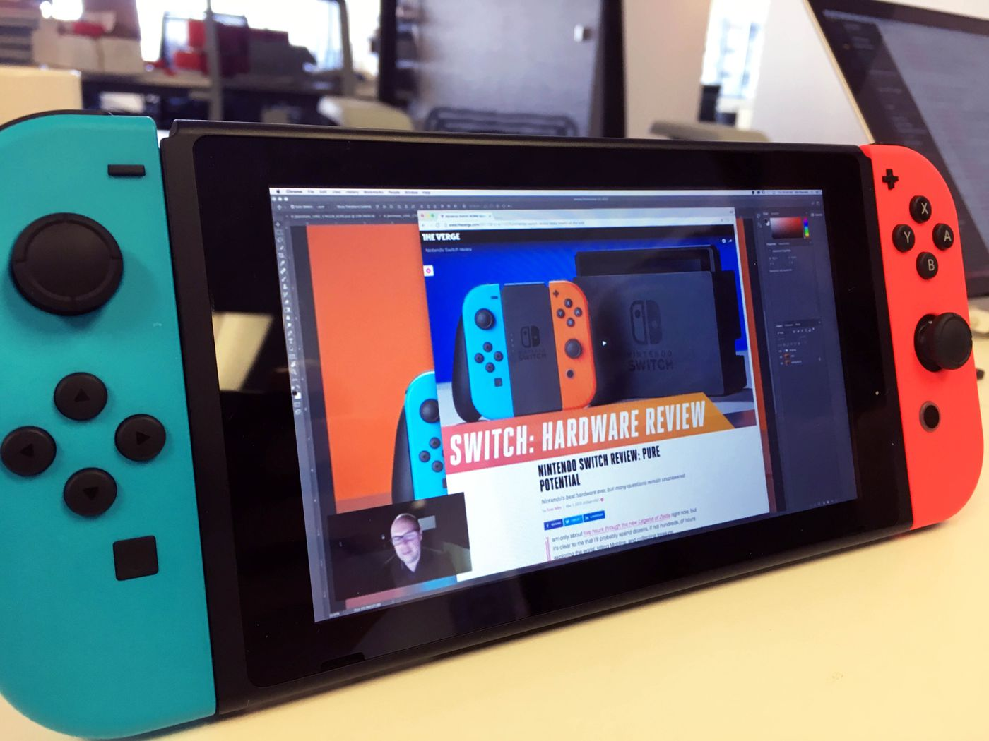 The Nintendo Switch Has A Secret Browser But You Can T Use It For Much The Verge
