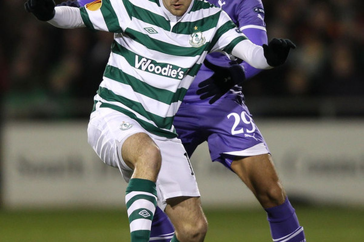 Karl Sheppard was playing his first competitive game since taking on Tottenham in the Europa League last year.