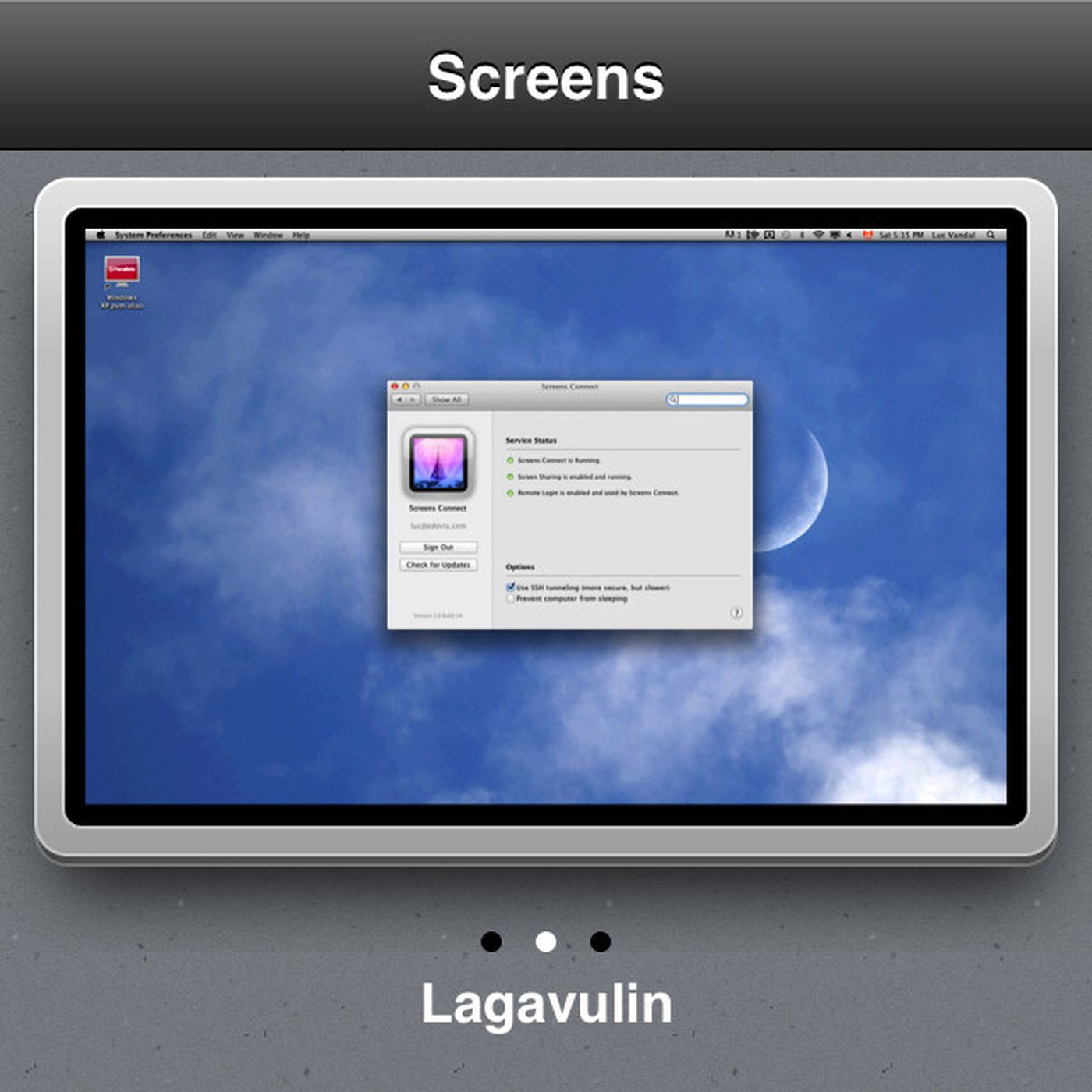 Screens VNC 2 0 for iOS adds iCloud syncing and AirPlay
