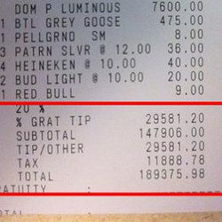 """<a href=""""http://eater.com/archives/2011/05/13/heres-a-190000-receipt-from-a-las-vegas-nightclub.php"""" rel=""""nofollow"""">Here's a 0,000 Receipt From a Las Vegas Nightclub</a><br />"""