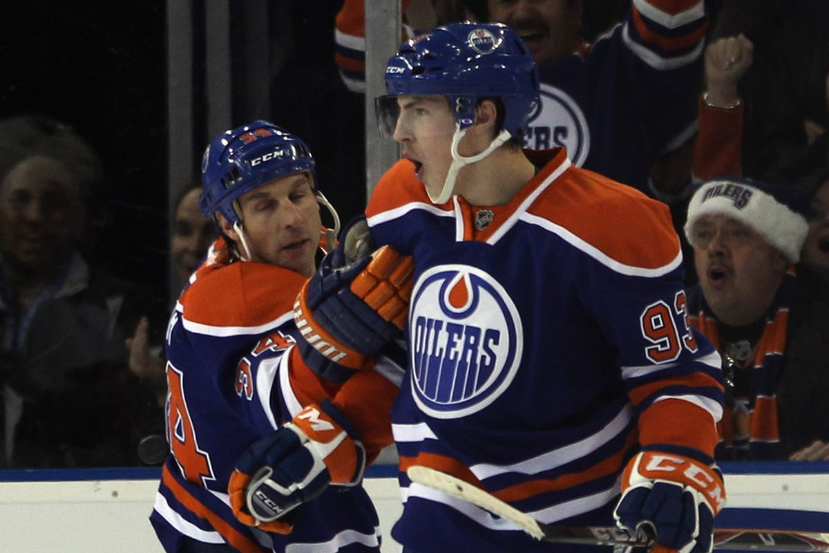Dr. Ryan Smyth gives the all-clear for 93 to return to the lineup