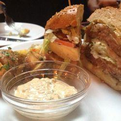 "Rubirosa burger by <a href=""https://twitter.com/Burgerplease/status/324339793045647360/photo/1"">@burgerplease</a>."