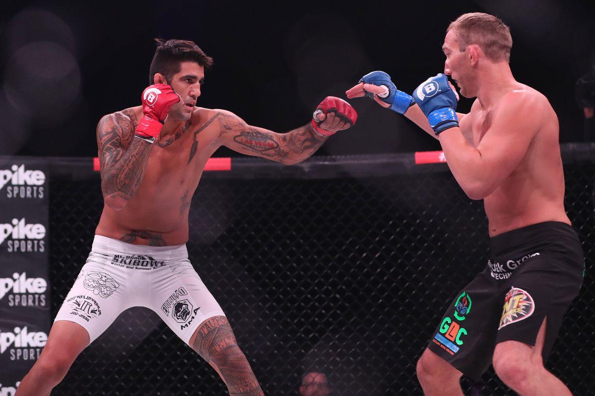 MMA: Bellator 181-Salter vs Grove