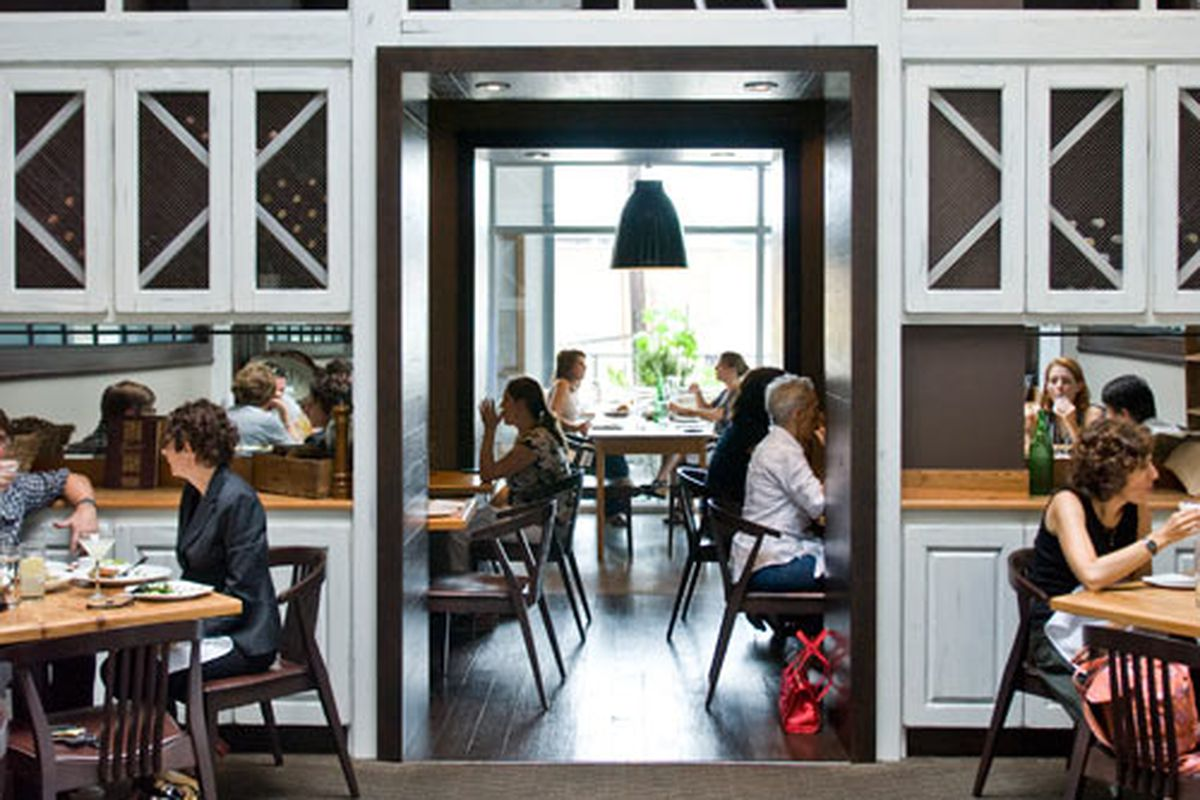 Interior dining room at Miller Union. Photo by Craig Brimanson.
