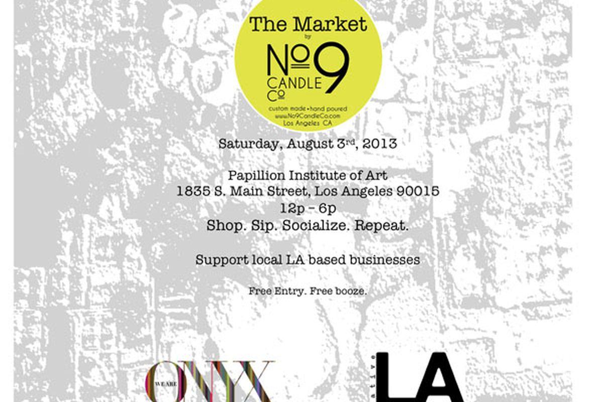 Flyer via The Market
