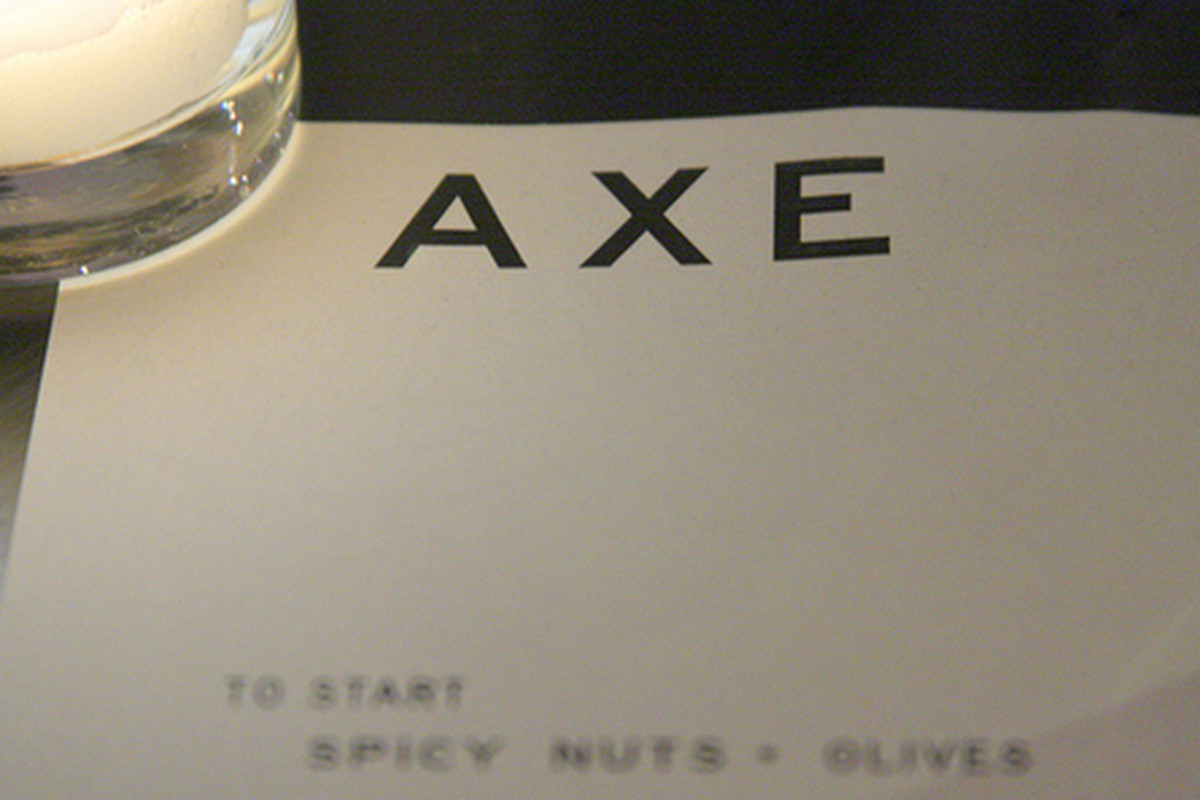 Inside Axe, Venice.