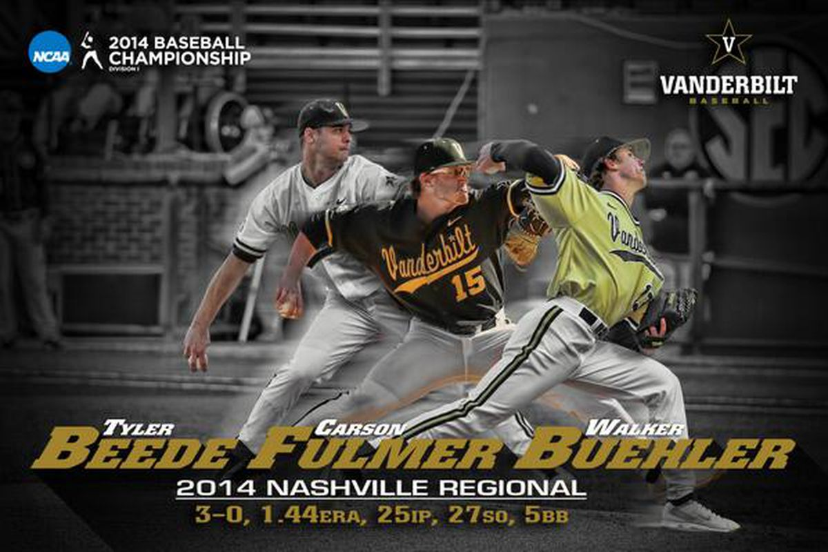The Three Aces: Beede, Fulmer, and Buehler.