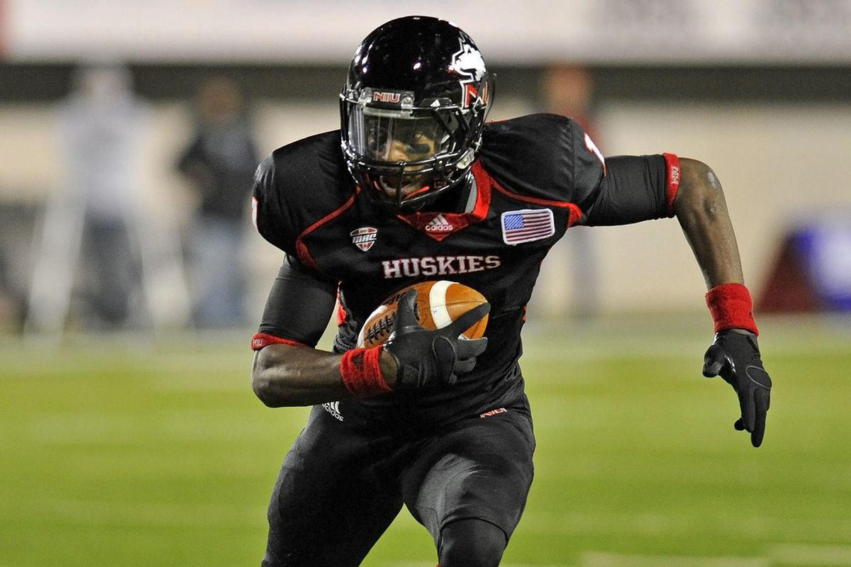 Martel Moore leads the most talented group of receivers in the MAC, which should help new starting QB Jordan Lynch. (Mike DiNovo-US PRESSWIRE)