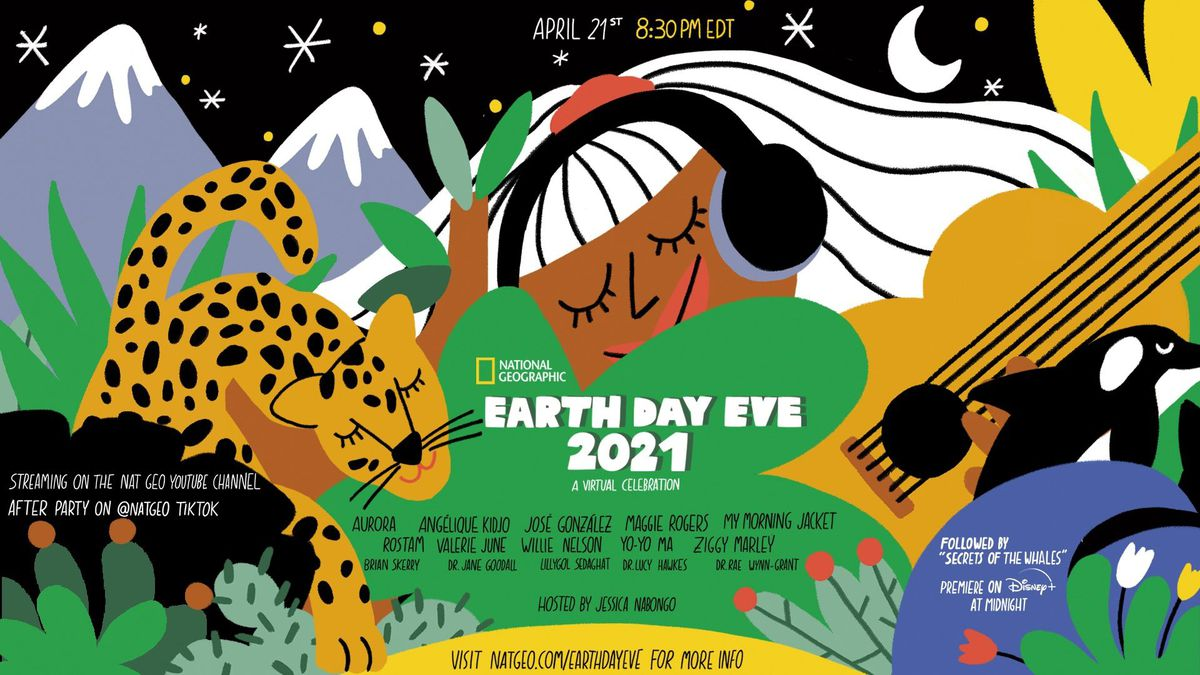 National Geographic's Earth Day Eve 2021