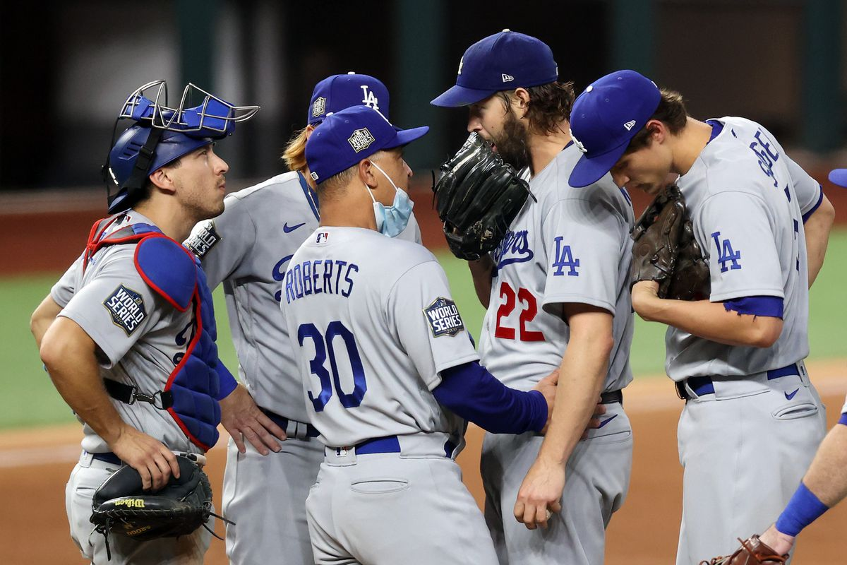 World Series: Clayton Kershaw & friends out-pitch Rays in Game 5 - True  Blue LA