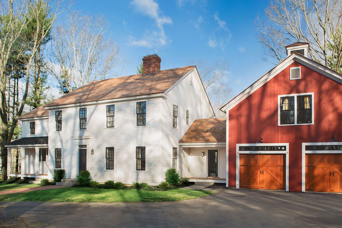 North Shore Farmhouse exterior